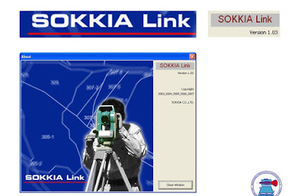 Download Sokkia link,software transfer data untuk total station sokkia