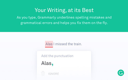 Must have Chrome Extensions: Grammarly