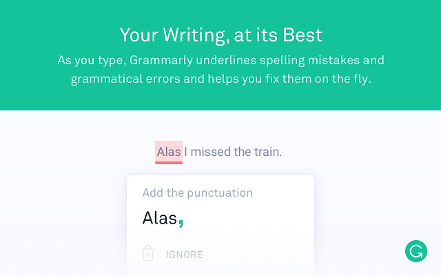 Grammarly is your FREE personal academic coach on the web!