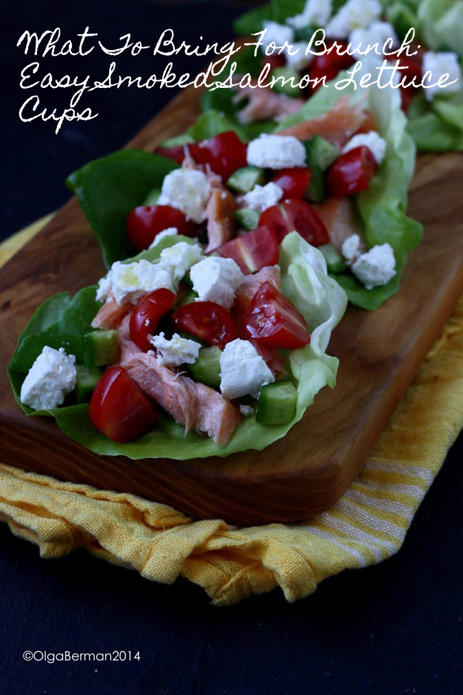 Mango Tomato What To Bring For Brunch Easy Smoked Salmon