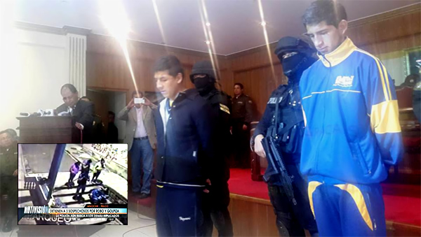 Detienen a pandilleros que atracaron a pareja en calle Montevideo