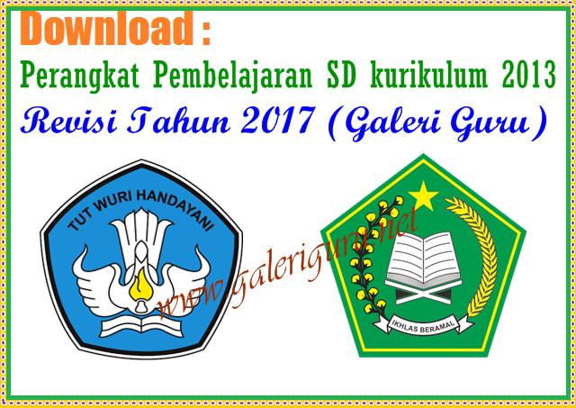 Perangkat Pembelajaran SD Kelas 1 kurikulum 2013_ Revisi Tahun 2017 (Galeri Guru)