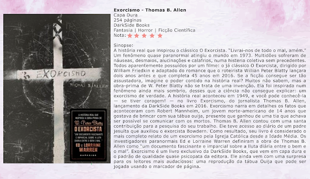 Exorcismo - Thomas B. Allen