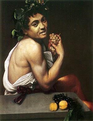 Joven Baco enfermo, Caravaggio