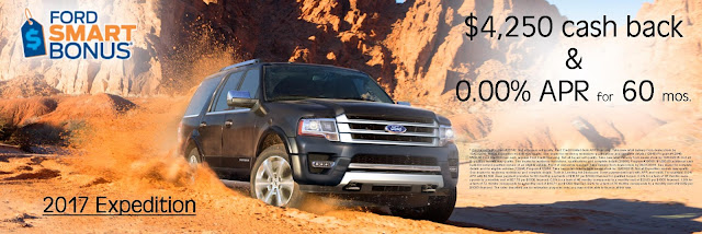 2017 Ford Expedition Discounts Increased at Ford of Ventura
