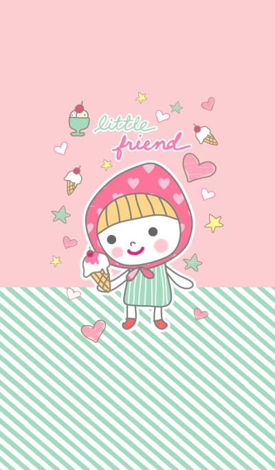 Little Friends 3(ice-cream)
