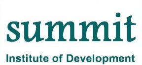 Lowongan Kerja Summit Institute of Development