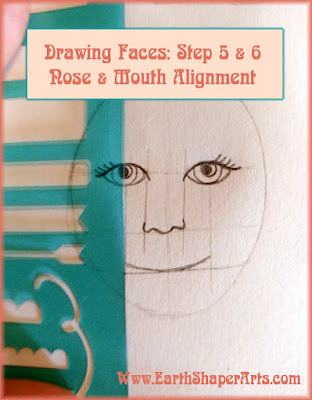 Drawing Faces Nose And Mouth Alignment