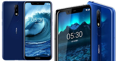 Spesifikasi dan Harga HP  Nokia 5.1 Plus