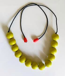 La La Beads Teething Necklace