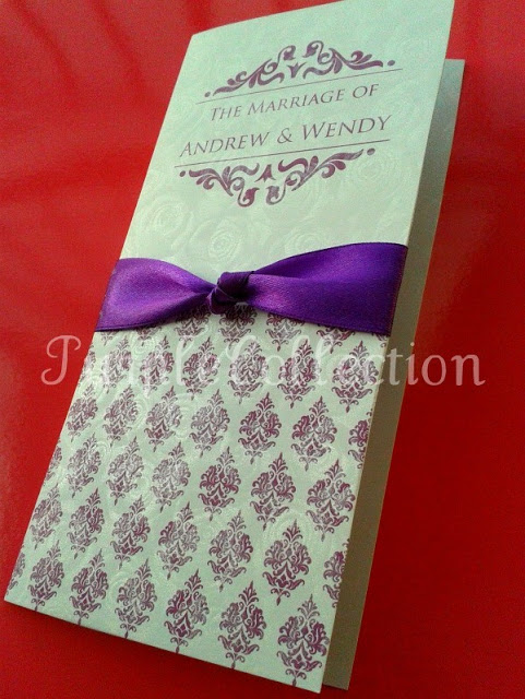 Purple Damask Floral Wedding Invitation Cards, Wedding invitation card, purple damask floral wedding invitation card, white perfume floral card, purple invitation card, purple wedding card, damask card, floral card, wedding card, wedding, invitation, invitation card