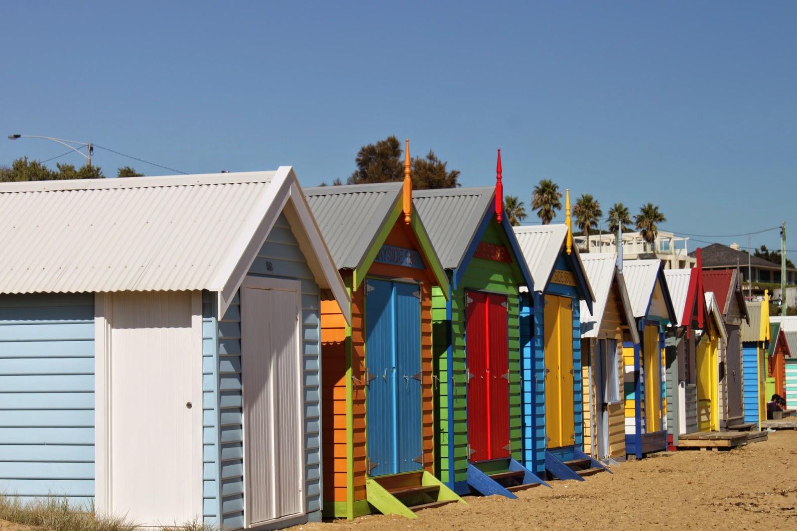 [澳洲工作假期系列] Brighton Beach 彩紅小屋 6
