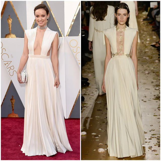 WHO WORE WHAT?.....88th Annual Academy Awards: Olivia Wilde in Valentino Haute Couture