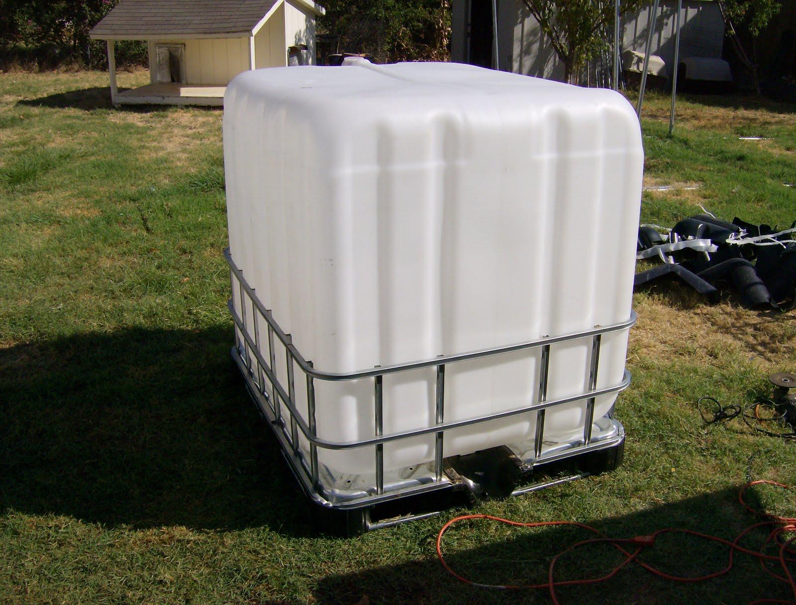 The Aquaponics Gardener Ibc Tote Tank Aquaponics