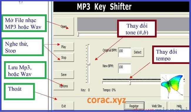 MP3 Keyshifter full