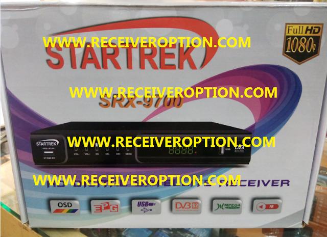 STARTREK SRX-9700 HD RECEIVER POWERVU KEY NEW SOFTWARE