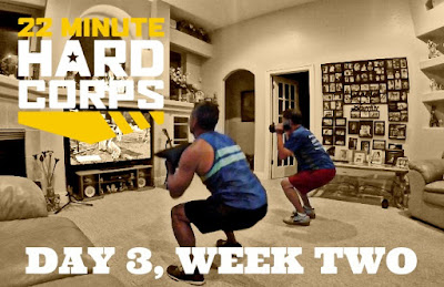 Day 3 Week Two 22 Minute Hard Corps, 22 Minute Hard Corps Resistance 1 Workout, Arnel Banawa, Free Beachbody Coaching, Free Fitness Coach