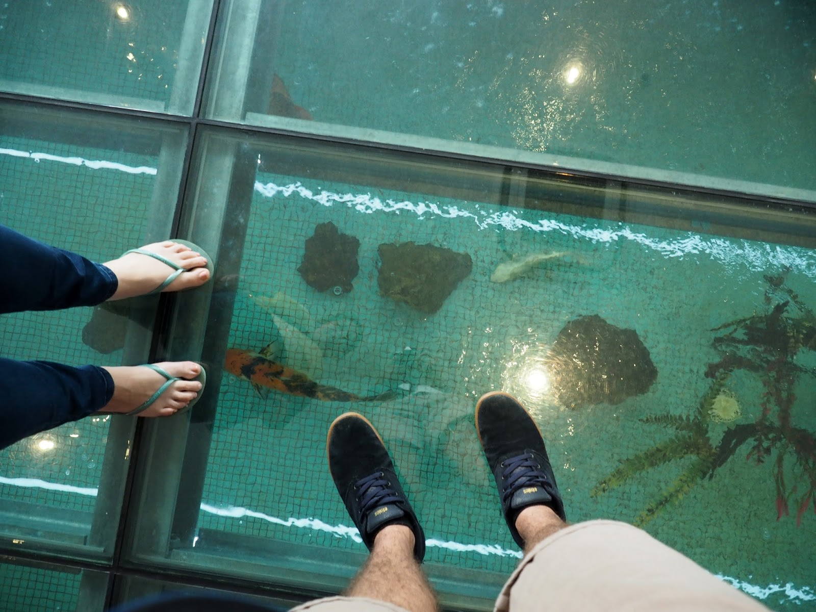 Koi Pool Lobby of Rydges Sydney Central