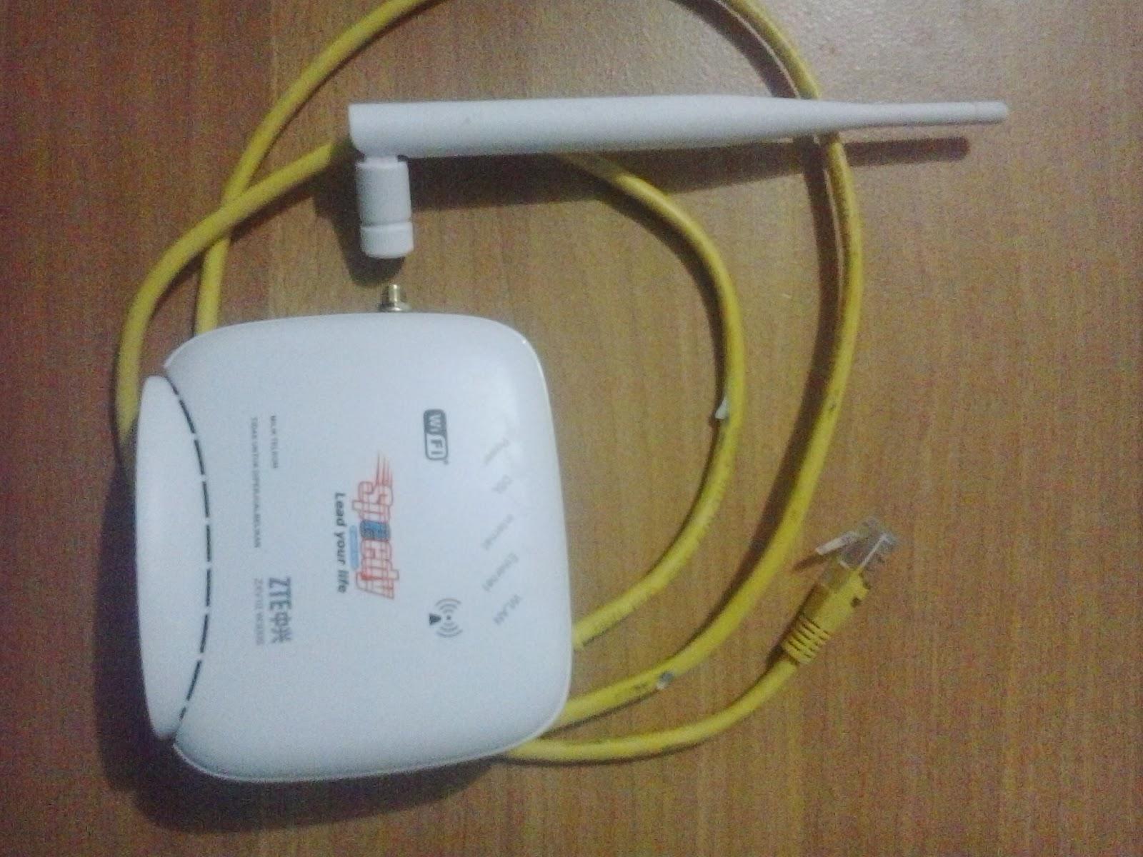 CARA MUDAH SETTING MODEM ADSL