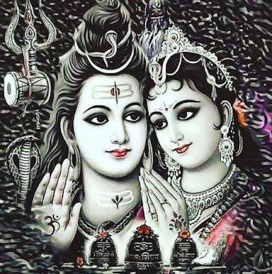 Dewi Parwati Sakti Dewa Siwa