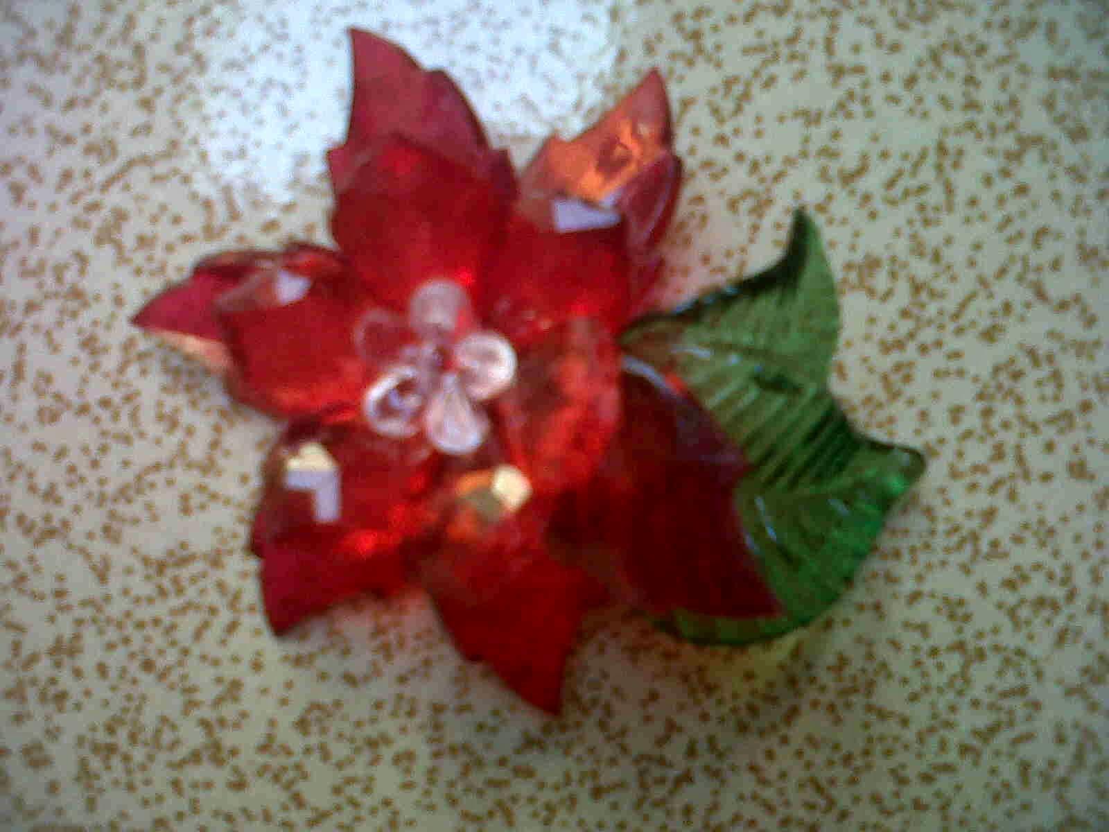 cara membuat bros bunga