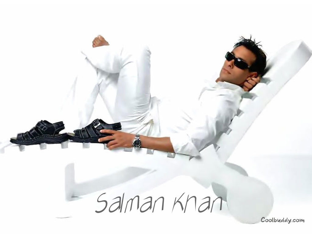 Salman Khan Wallpaper Salman Khan White Shirt , 1024 X 768-7670