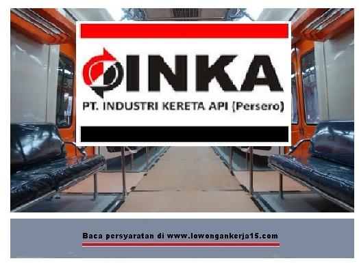 lowongan kerja INdustri INKA
