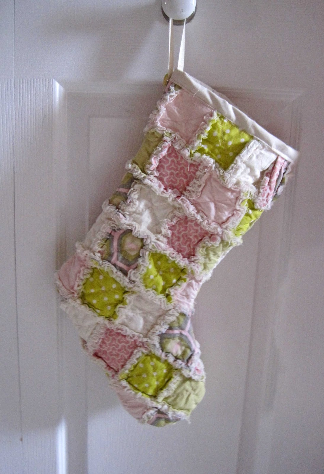Stampy Mcstamperson Rag Quilted Stockings