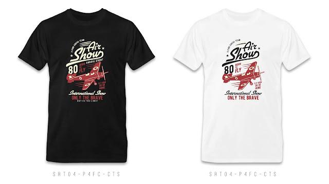 SRT04-P4FC-CTS Retro T Shirt Design, Custom T Shirt Printing