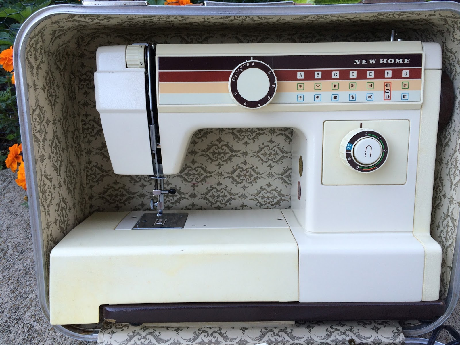 new home 656a sewing machine manual