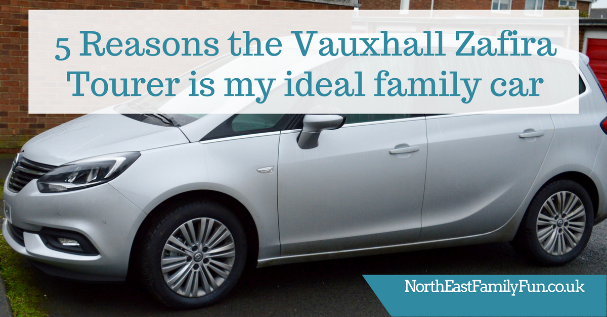 5 Reasons the Vauxhall Zafira Tourer is an ideal car for families looking for flexibilty
