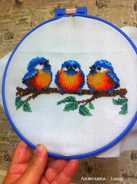 Птички бисером или Чик-чирик