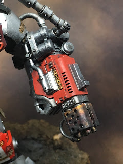 WIP Grand Master in Nemesis Dreadknight Left Arm