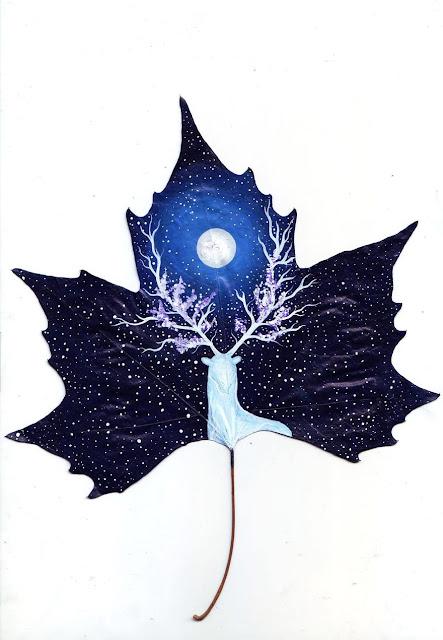 yaprak çizimi