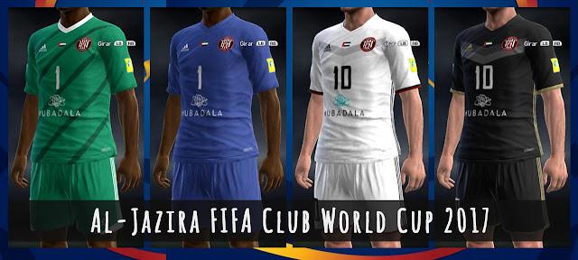 PES 2013 Al Jazira FIFA Club World Cup 2017 Kits d11b9ece7
