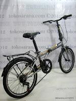 C 20 Inch Laux Venice 7 Speed Shimano Folding Bike