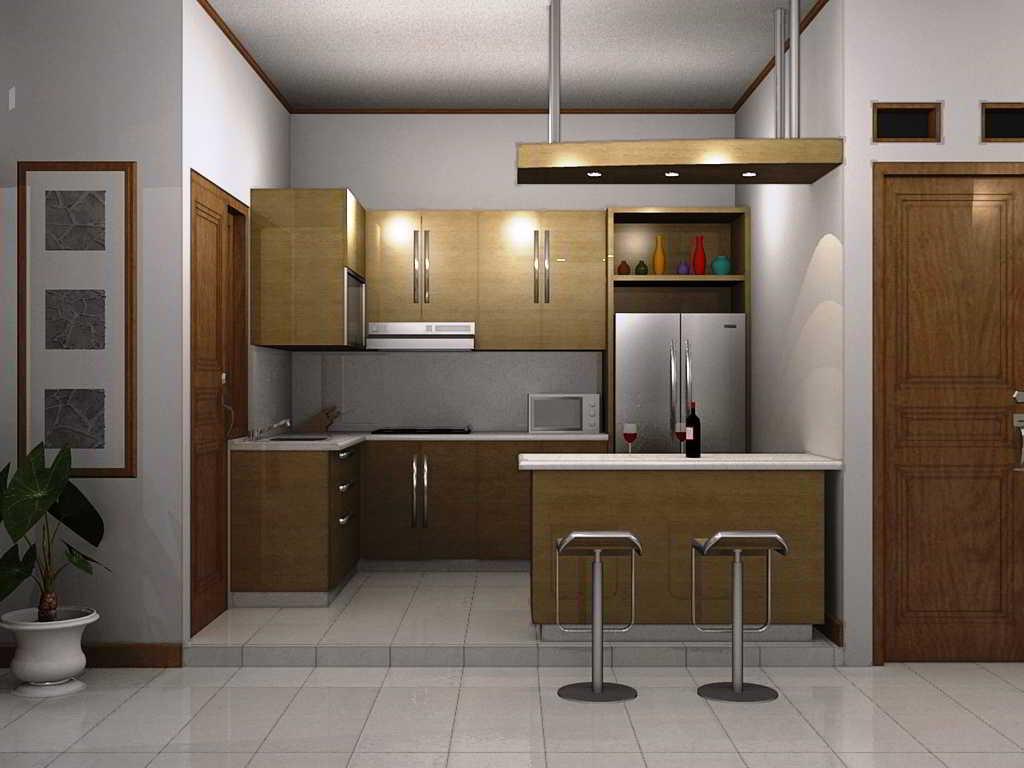 30 Desain Dapur Bentuk L Minimalis Sederhana Cantik