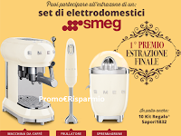 Logo ''Indovina la ricetta Sapori'' e vinci gratis forniture Sapori ed elettrodomestici Smeg