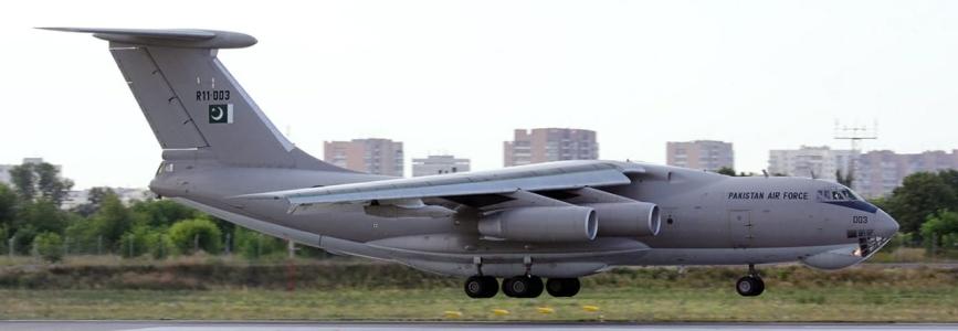 Укрспецекспорт виграв тендер на ремонт літака-заправника Іл-78 ВПС Пакистану