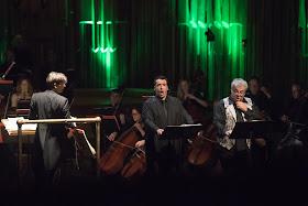 Simone Alberghini & Maurizio Muraro with the BBC Symphony Orchestra, Opera Rara Chorus and conductor Daniele Rustioni_(c) Russell Duncan
