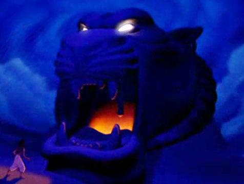 La Cueva de las Maravillas en Aladdín - Cine de Escritor