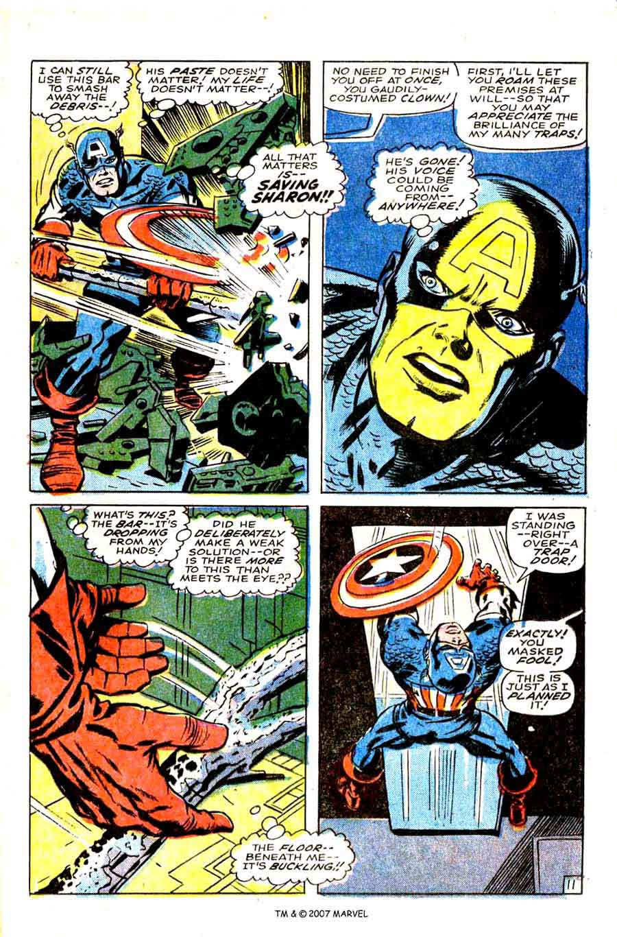 Captain America v1 #108 marvel comic book page art by Jack Kirby
