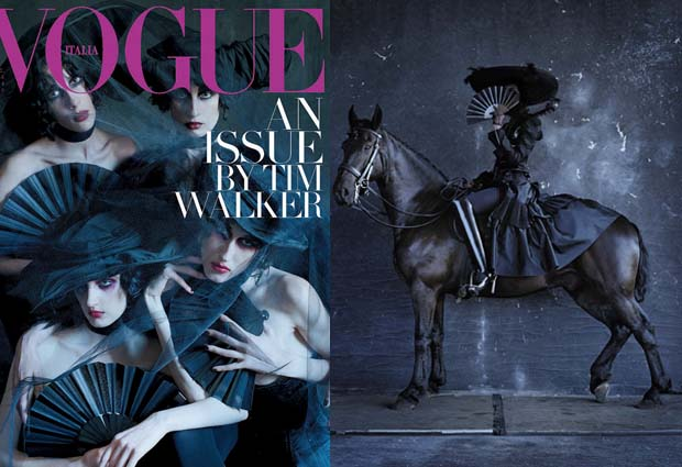 kunza corset in Vogue Italia photograpy Tim Walker Rebel Riders  luxury fashion london