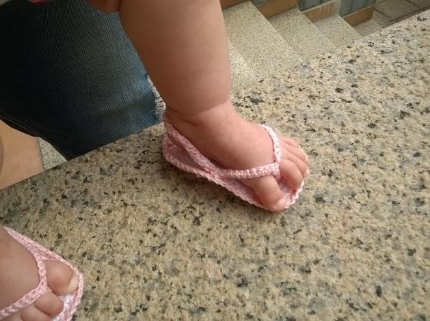 Gla Crea Tutorial Uncinetto Sandaletti E Infradito Per Bimba