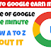 How to Google earn money