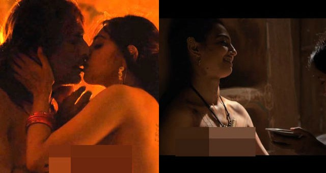 Radhika Apte Topless Parched Video