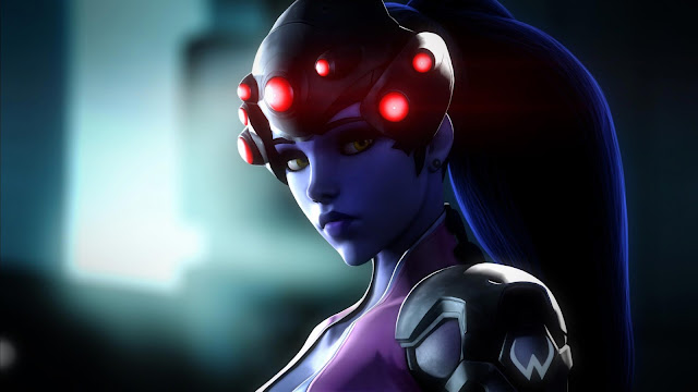 Papel de parede Widowmaker Overwatch para PC, Notebook, iPhone, Android e Tablet.