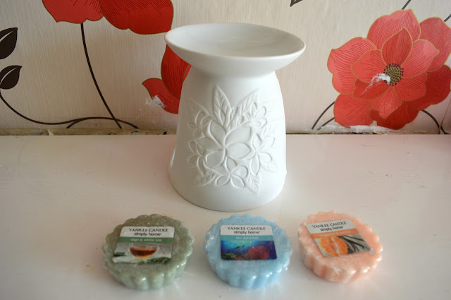 yankee candle wax burner and wax melts