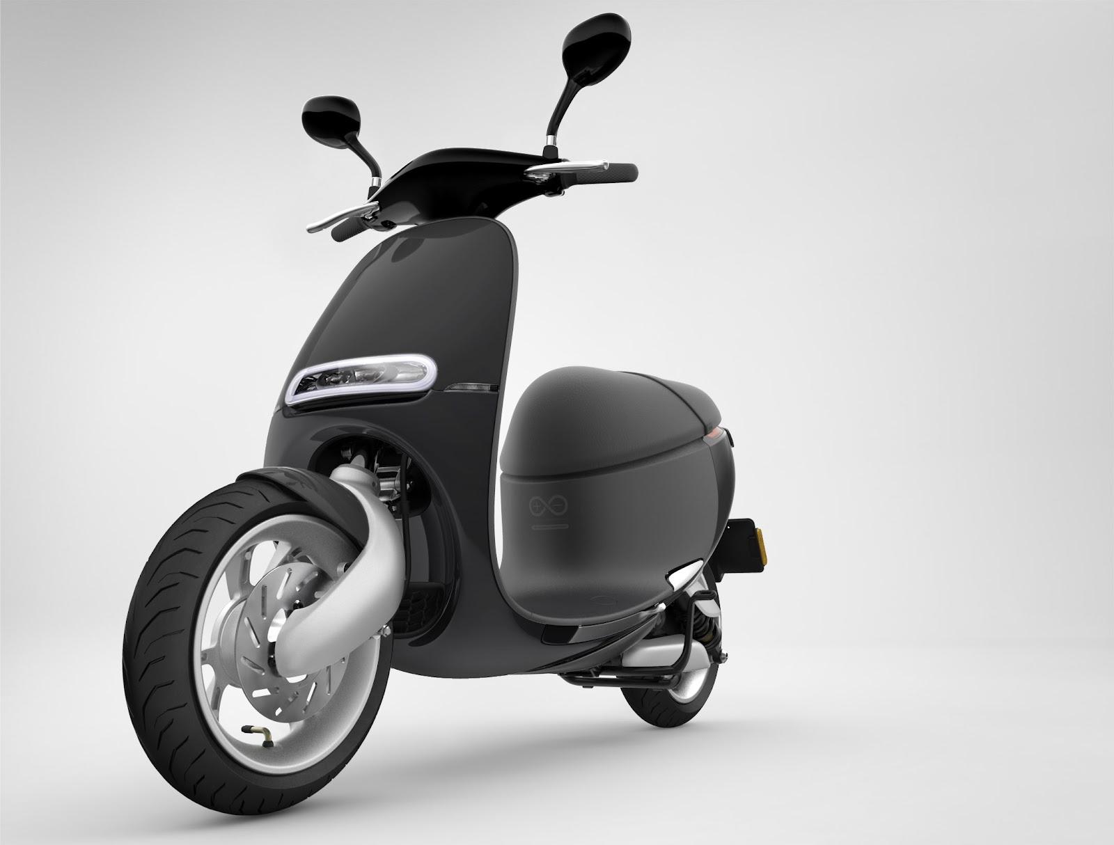 美形與科技:GOGORO Smartscooter 電動車:Lite 版上市