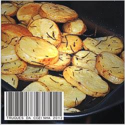 Receita de batata de forno